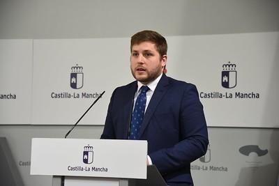 Videoconferencia con los representantes del sector del transporte de Castilla-La Mancha