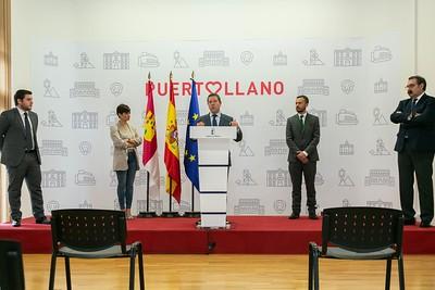 Puertollano recibe una inyección de 8 millones de euros para el desarrollo industrial y las mejoras urbanas de la localidad