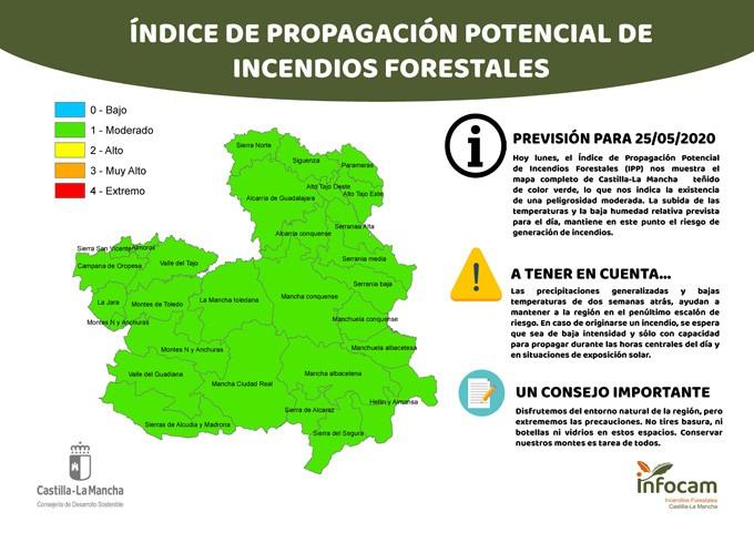 El Gobierno regional presenta la campaña de prevención y lucha contra incendios forestales de 2020