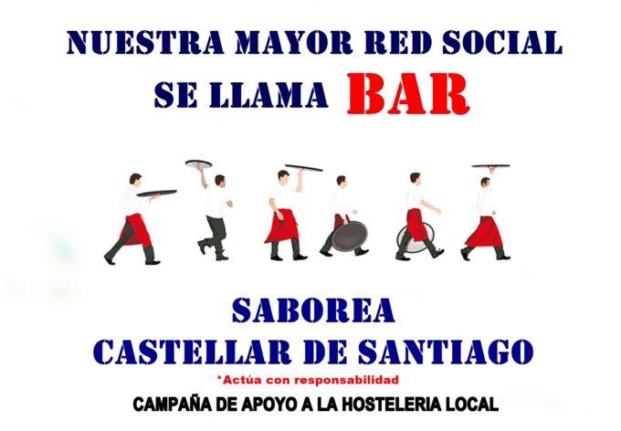 Castellar de Santiago lanza una campaña de apoyo al sector hostelero