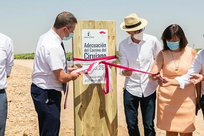 Emiliano García-Page ha inaugurado hoy las obras de adecuación del Camino del Cirujano