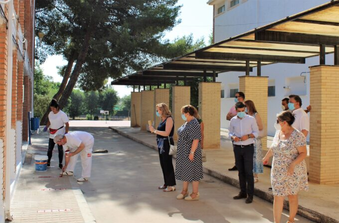 Cuatro centros educativos de Campo de Criptana reciben 96.000 euros del Gobierno regional para adaptarse al COVID-19