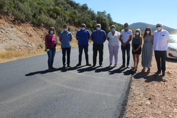 El Gobierno de CLM mejora la conexión por carretera en el entorno rural entre Puebla de Don Rodrigo y Arroba de los Montes