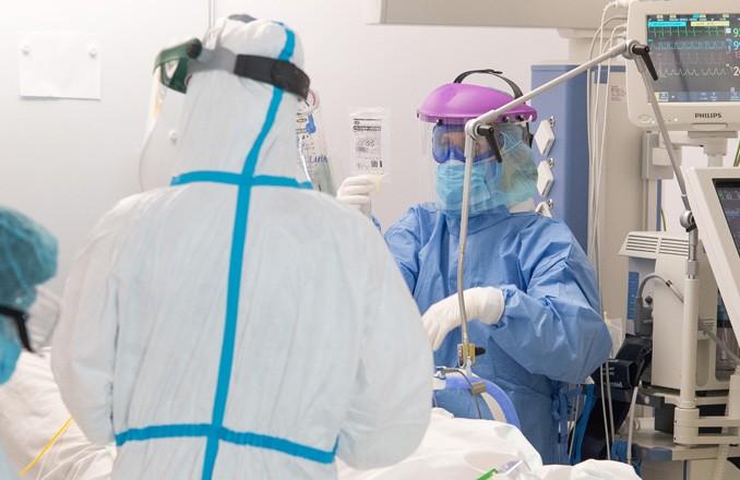 Nueve hospitalizados por coronavirus en el Hospital de Valdepeñas