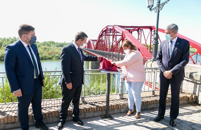 El Gobierno de Castilla-La Mancha finaliza las obras de rehabilitación del Puente Reina Sofía de Talavera de la Reina