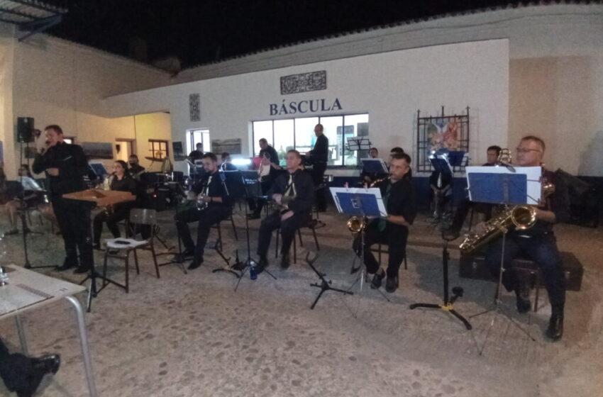 """Big Bang"" ha ofrecido un concierto en Bodega Terraza Jamón Spain de Valdepeñas"