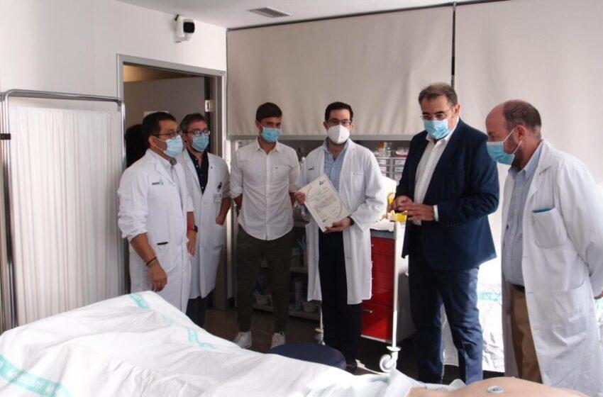 El centro de simulación clínica avanzada del HGUCR consigue la certificación de calidad ISO 9001