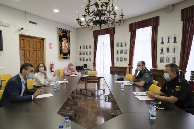 Tierraseca analiza con Policía Nacional y Guardia Civil el dispositivo de refuerzo para la campaña de la vendimia en Ciudad Real