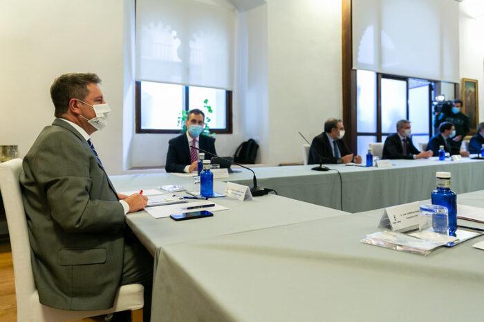 El Gobierno regional crea un comité de coordinación interadministrativa para toma de decisiones durante el estado de alarma