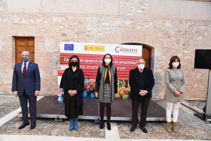 Presentación de la campaña 'Levantar una persiana es construir un país' en Ciudad Real