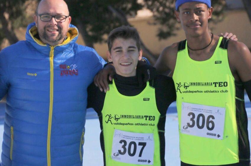Asabu Pinés e Iván Rivero, del Valdepeñas Athletics Club, viajan al campeonato de España Sub-16