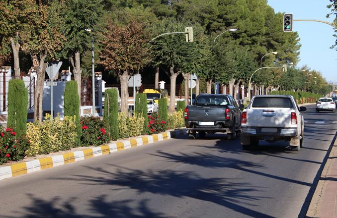 Manzanares controlará la velocidad en la avenida del Parque a petición de la asociación de vecinos del barrio