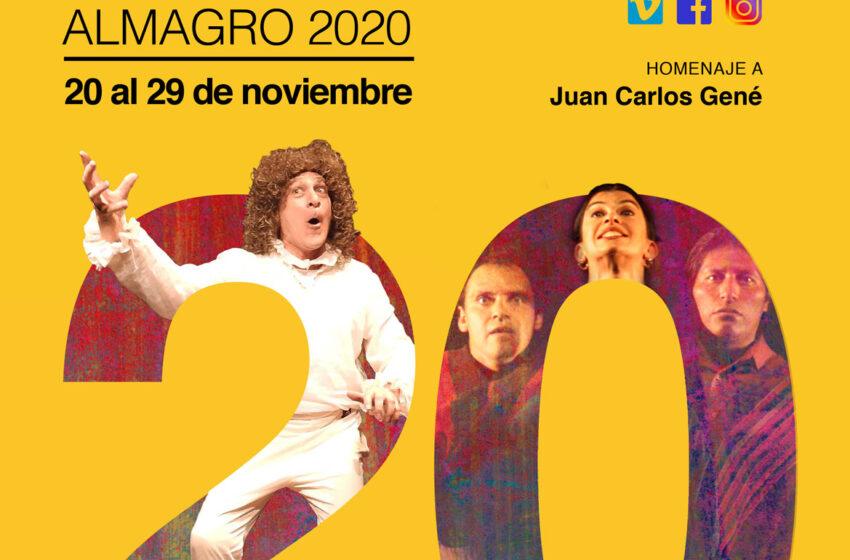 El Festival Iberoamericano de Teatro Contemporáneo de Almagro  celebra su vigésimo aniversario con edición online