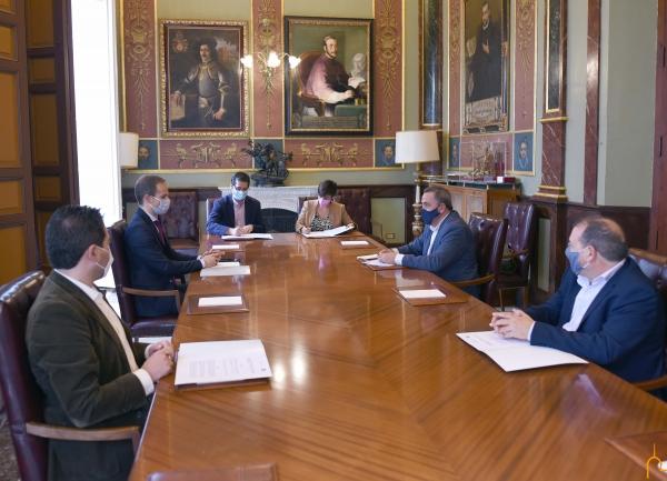 La Diputación provincial colabora con la creación de la Cátedra de Investigación en Ciencia y Tecnología Química de la UNED en Puertollano