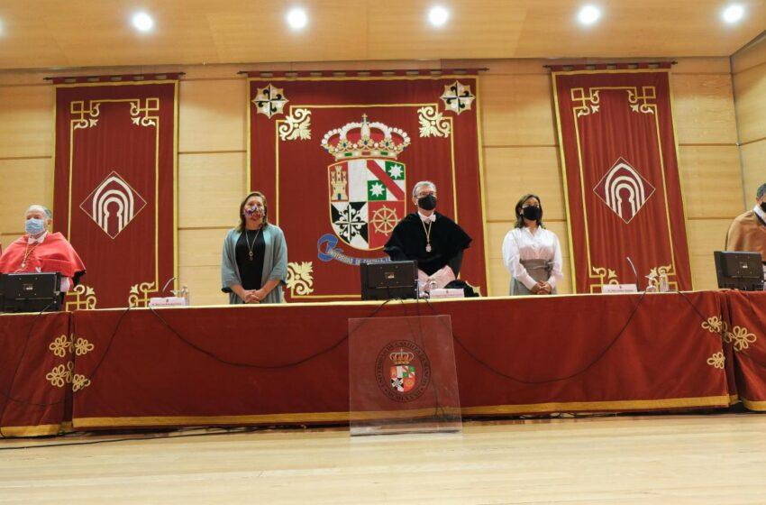 La consejera de Educación, Cultura y Deportes, Rosa Ana Rodríguez ha asistido a la inauguración del inicio del curso académico 2020-2021 de la UCLM