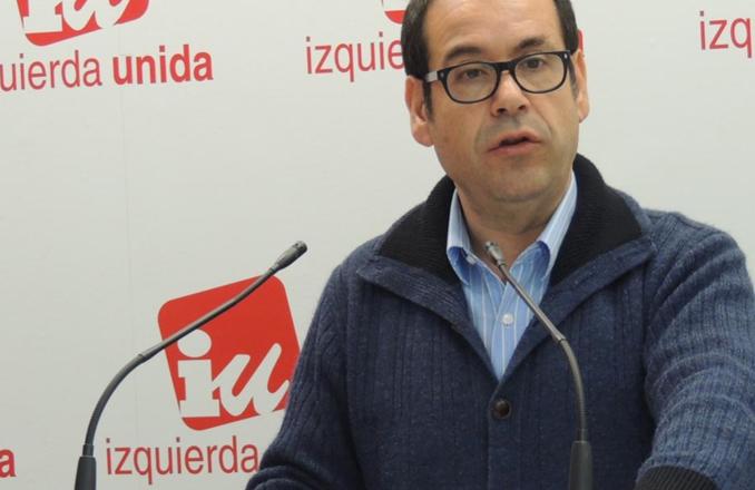 """Crespo (IU) califica de """"hipócrita"""" al PP C-LM y le pide acabar con su boicot a los fondos europeo"""