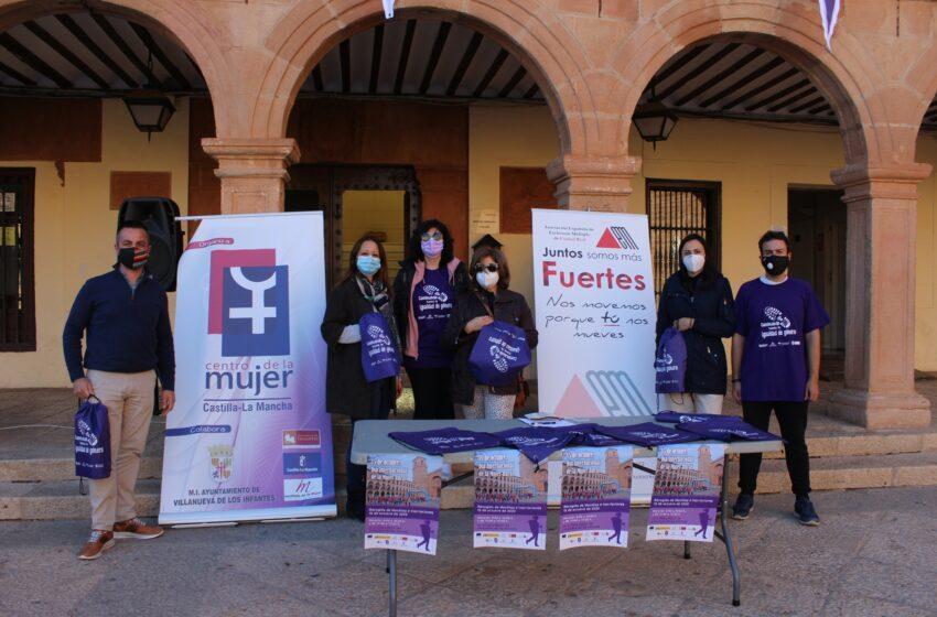 En parejas o en pequeños grupos, así es como se ha celebrado este año la Marcha Solidaria por la Igualdad en Villanueva de los Infantes