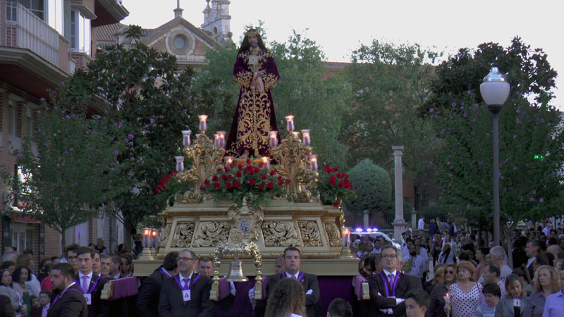 El domingo será expuesta la imagen de Nuestro Padre Jesús Nazareno Rescatado para su veneración
