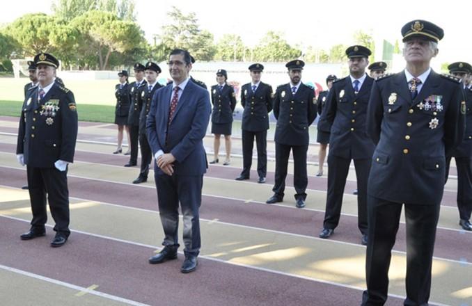 Caballero reconoce como imprescindible la labor de la Policía Nacional en el Día de los Ángeles Custodios
