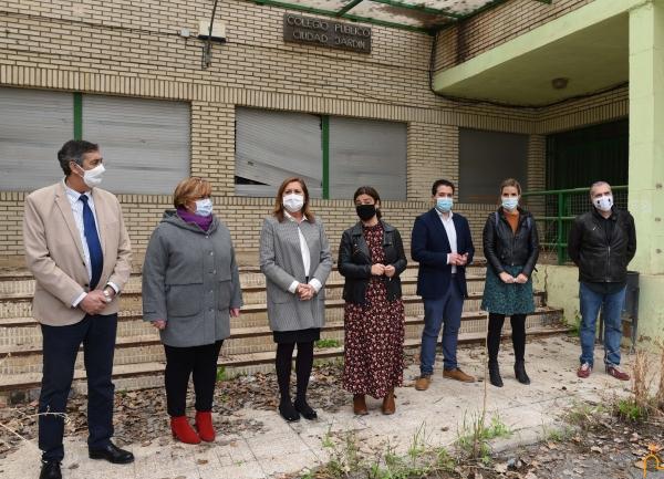 Presentado el proyecto del colegio Ciudad Jardín en Ciudad Real para convertirse en la Universidad Popular