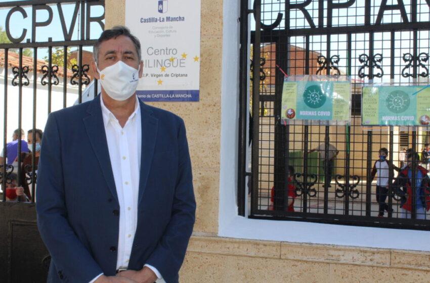 Baja incidencia de la pandemia en los centros educativos de Ciudad Real gracias al esfuerzo de la comunidad educativa