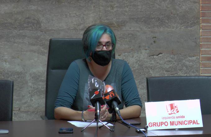 IU considera que no es el momento para aprobar la nueva ordenanza de los vados en Valdepeñas