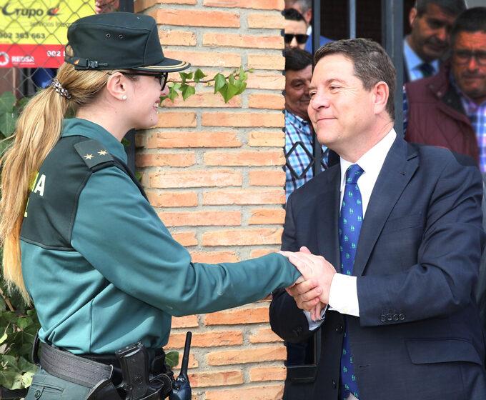 Artículo del presidente Emiliano García-Page con motivo del Día de la patrona de la Guardia Civil: Apoyo sin fisuras