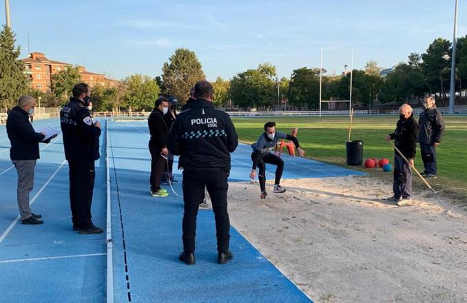 Comienza con la prueba de aptitud física el proceso selectivo convocado por el Gobierno regional para cubrir 34 plazas de policía local de 16 municipios de la región