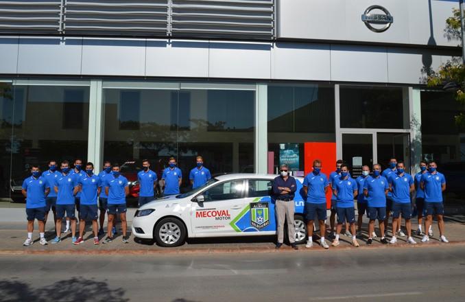 Viña Albali Valdepeñas visita Nissan Mecoval Motor en Valdepeñas