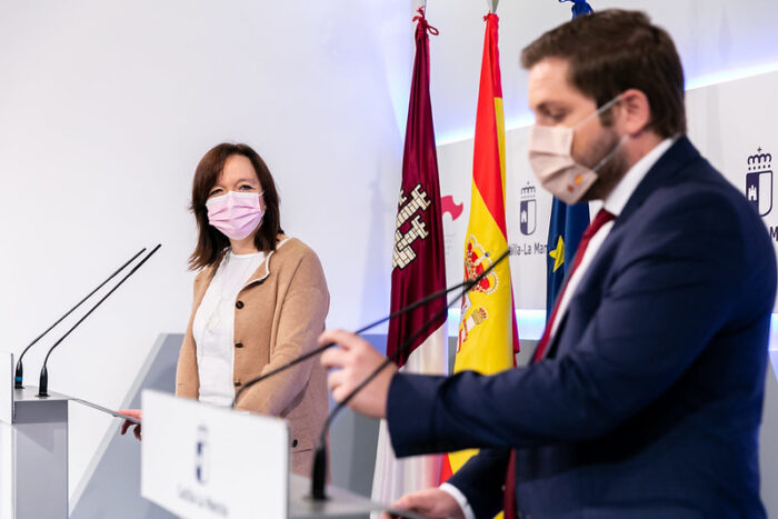 Rosa Melchor y Nacho Hernando
