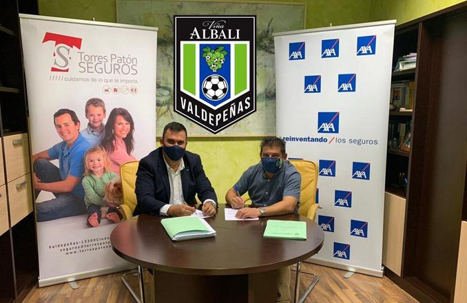 Viña Albali Valdepeñas firma un acuerdo con Torres Patón seguros AXA