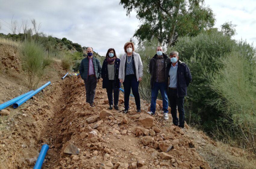 El Gobierno de CLM renueva la red de abastecimiento de agua potable que garantizará el suministro en Guadalmez