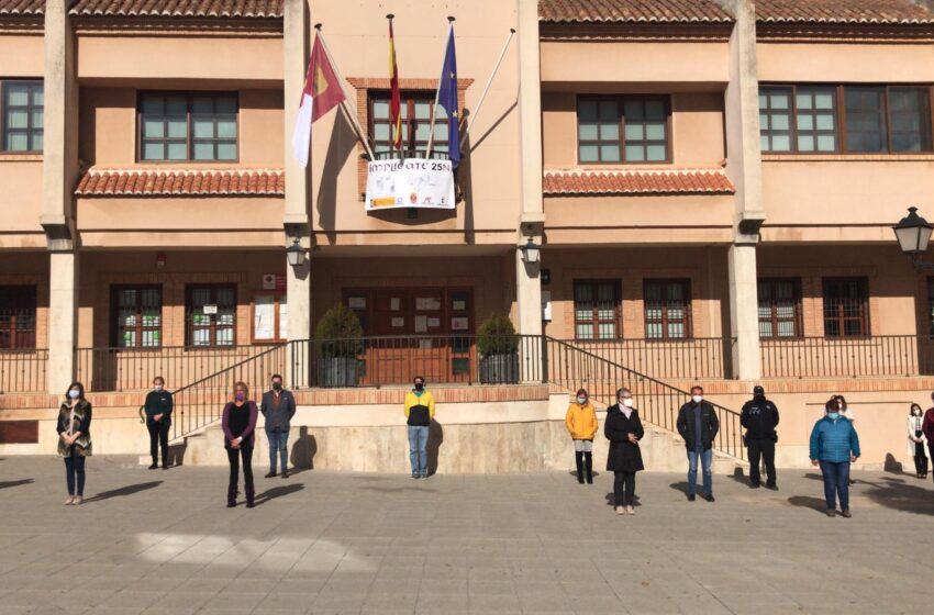 El Ayuntamiento de Santa Cruz de Mudela se suma a la condena de la violencia machista por el 25-N