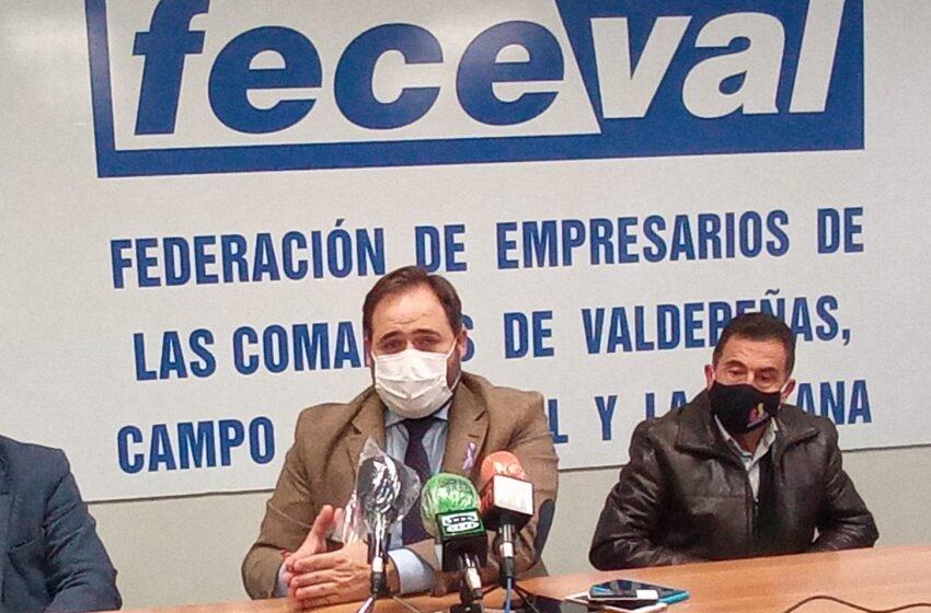 El PP de Valdepeñas se reúne con Feceval