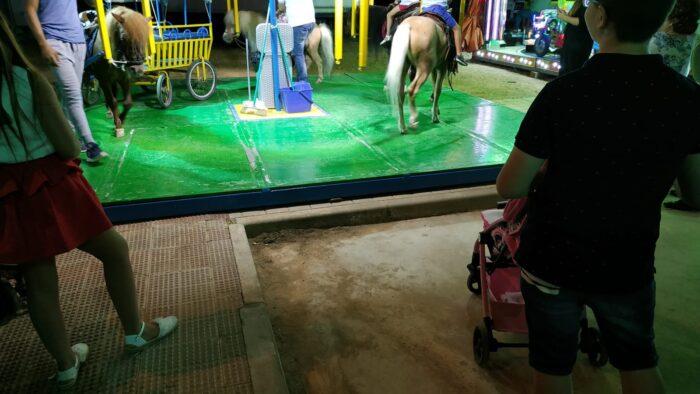 Ponis en la Feria de Valdepeñas
