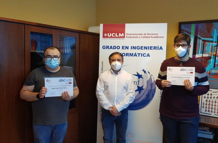 Fallados los premios aula OESÍA-UCLM a los mejores TFG en Ciberseguridad y Big Data