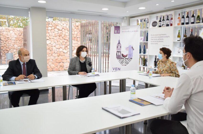 Patricia Franco ha mantenido una jornada de trabajo con la alcaldesa de Socuéllamos, Elena García