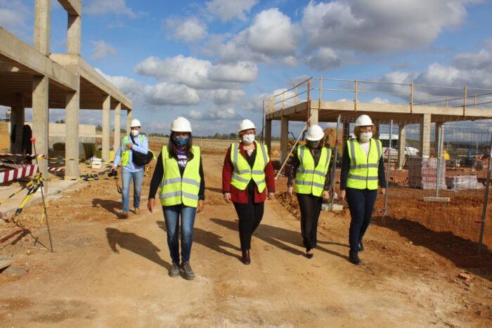 Obras de la depuradora en Argamasilla de Calatrava