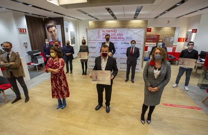 Bodegas Fernando Castro como 'Mejor Pyme del año' en la provincia de Ciudad Real