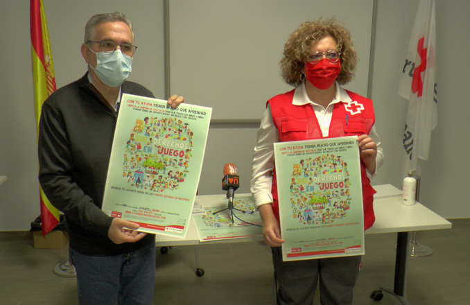 Cruz Roja presenta su campaña de juguetes 'Sus derechos en juego'