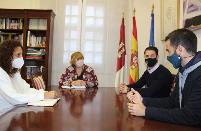 El Gobierno de García-Page muestra su apoyo a la nueva directiva de la Asociación de Jóvenes Empresarios de Ciudad Real