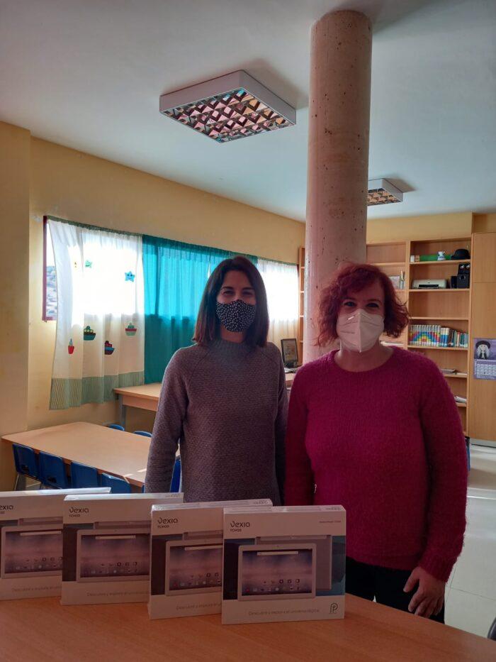 Cortes Agudo y Ángela del Campo