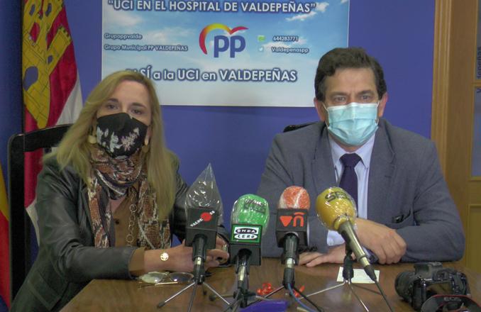 El candidato a la presidencia provincial del PP en Ciudad Real visita Valdepeñas