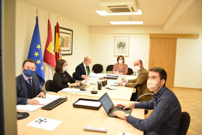 Reunión del Consejo de Administración del Instituto de Finanzas de Castilla-La Mancha