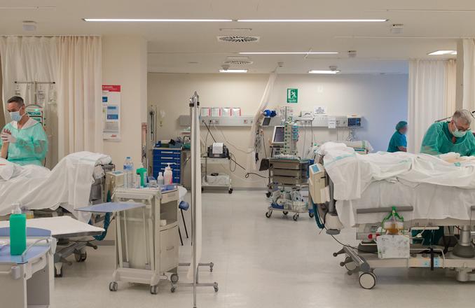 14 ingresados por Covid-19 en el Hospital de Valdepeñas, datos actualizados