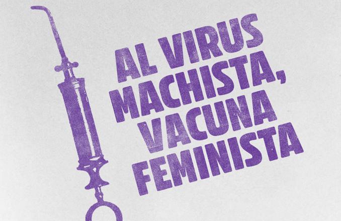"""Al virus machista, vacuna feminista"""" – Manifiesto de la Red de Feminismo de IU por el 25N de 2020"""