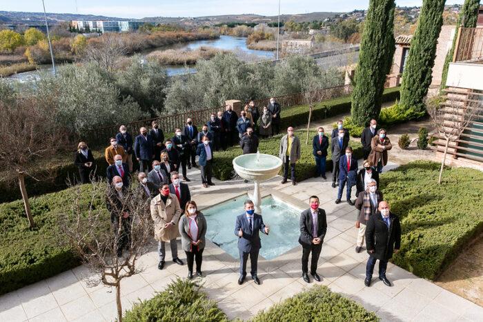 Firma del Acuerdo en Defensa del Agua de Castilla-La Mancha