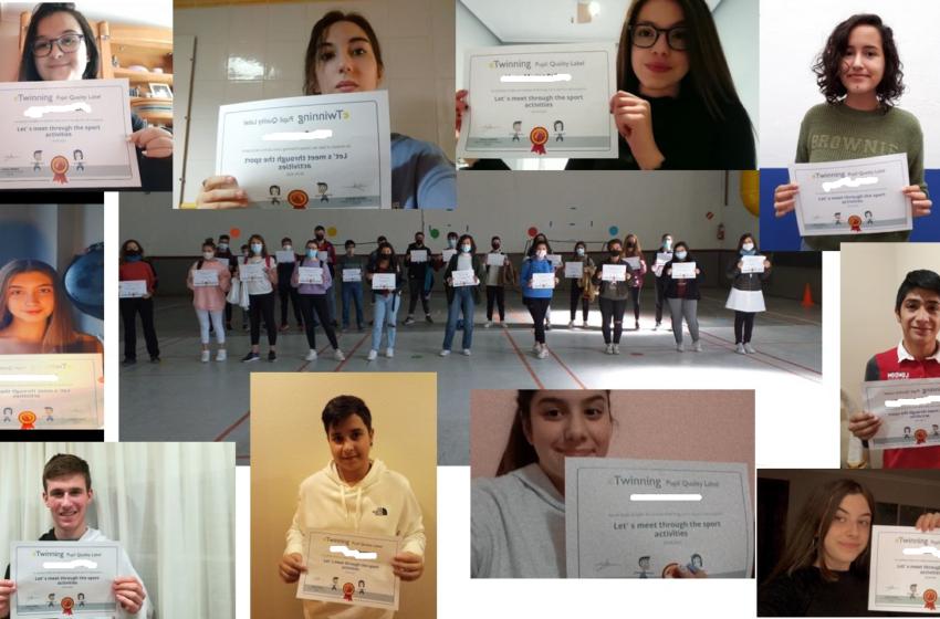 Alumnado del IES Gregorio Prieto reconocido por un Proyecto Europeo