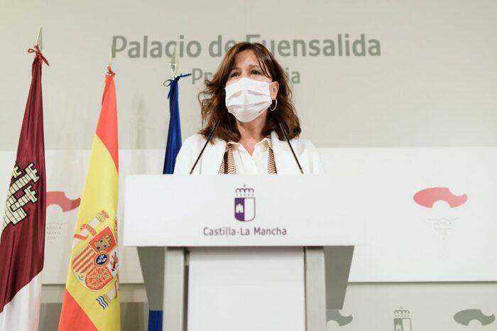 La consejera portavoz, Blanca Fernández, ha realizado el balance del año
