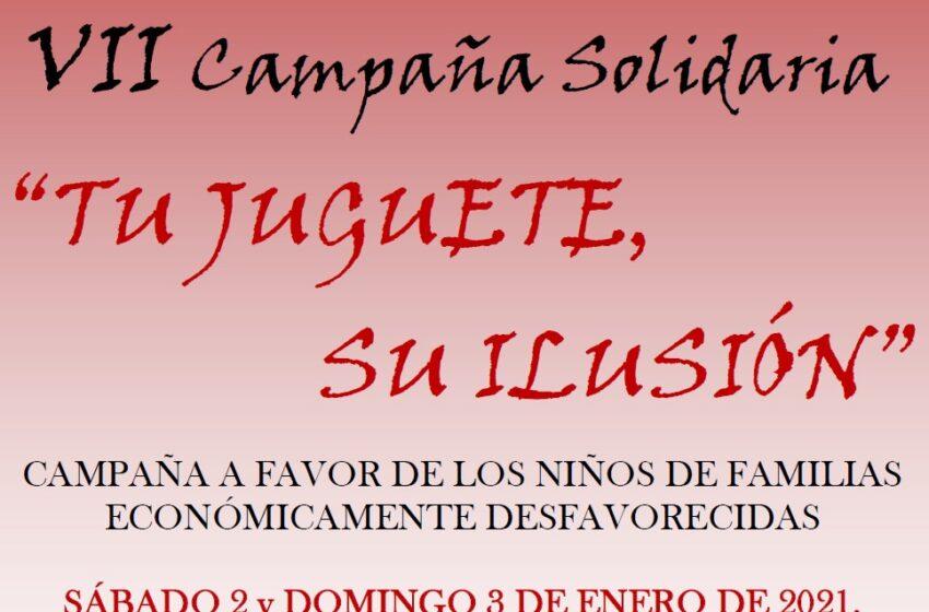 VII Campaña Solidaria «Tu juguete, su ilusión» de la Hermandad de Misericordia y Palma de Valdepeñas